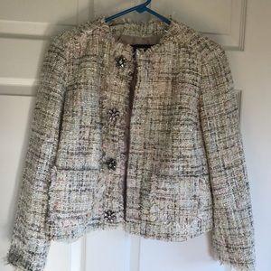 Zara suit coat outfit